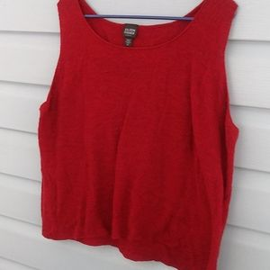 Eileen fisher sleeveless top size 2X